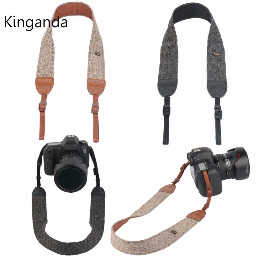 Retro Vintage Camera Shoulder Neck Strap Universal For Sony Nikon Canon Olympus DSLR Camera Single Shoulder Slings Strap Belts