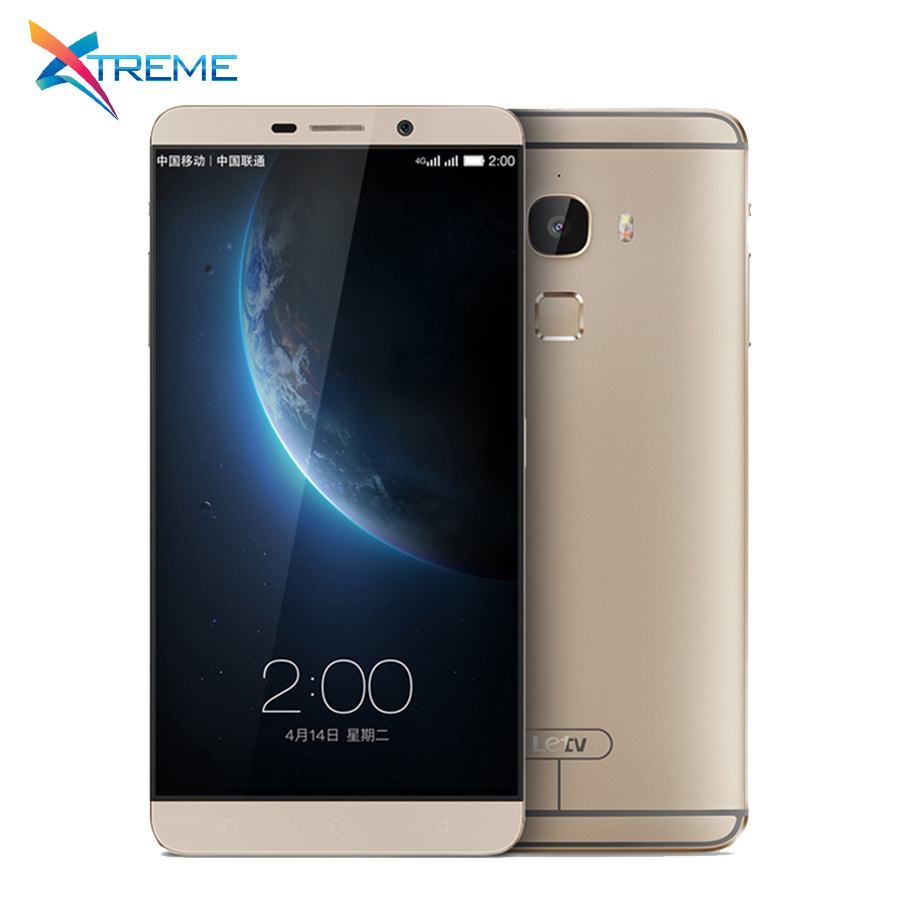 "Original Letv LeEco Le Max X900 Mobile Phone Snapdragon 810 Octa Core 4G FDD LTE 6.33"" IPS 4GB RAM 32GB ROM 21MP Camera"