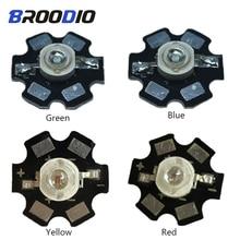 цены 20pcs LED Lamp Light High Power Chip Bulb 1W 3W 5W Red Green Blue Full Specturm UV Floodlight Lighting Diodes Spotlight Beam DIY