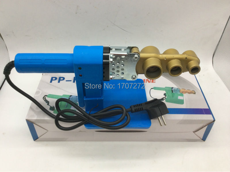 Free Shipping Full Automatic Heating PPR Pipe Welding Machine plastic welder AC 220V 600W 20-32mm welding plastic