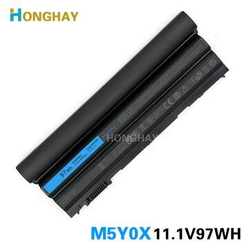 97WH New Original M5Y0X Laptop Battery for DELL E5420 E5430 E5520 E5530 E6420 E6430 E6520 E6530 T54FJ 3460 3560 M421R 4520 8858X