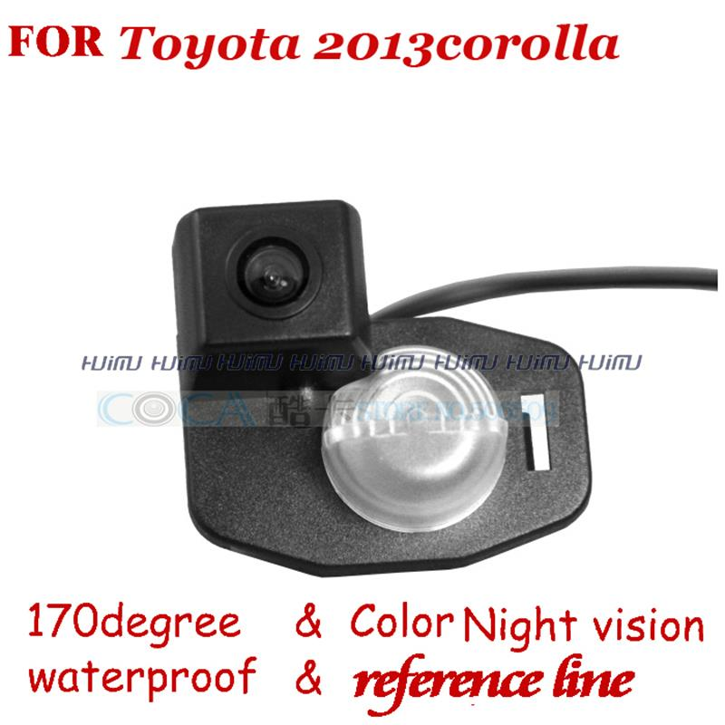 wireless wire Car Rear View Reverse Camera parking assist for Toyota Corolla 2007 2013 America Version
