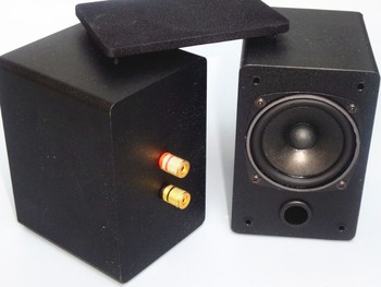 sound clear HIFI-3 inch full-range speaker 20w+20w Computer desktop Stereo audio speaker for Small power Mini Amplifier