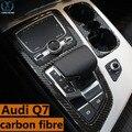 Для нового Управления передач чашки из углеродного волокна 16 новых Audi Q7 интерьера декоративные блестки в модифицированной 3D модификации в ...