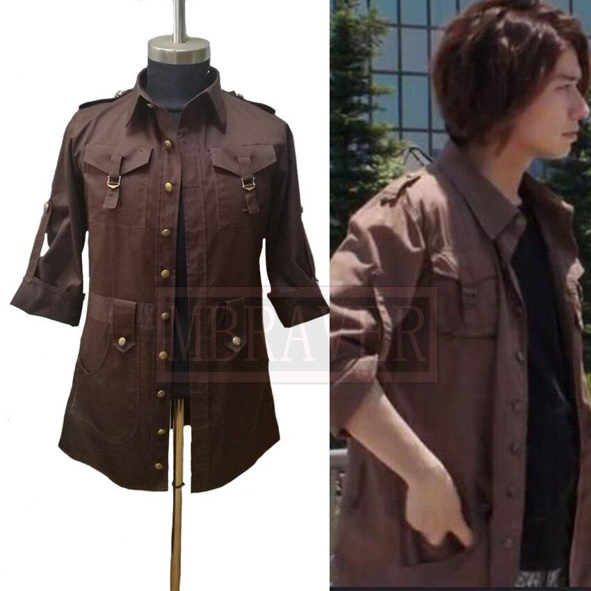 Kamen Rider Build Kazumi Sawatari T-shirt Cos Cosplay Costume Halloween Uniform Outfit Custom Made Any Size