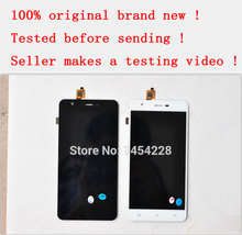 BINYEAE Black / White 100% original 1920x1080 FHD Touch Panel Digitizer+LCD display screen for Jiayu S3 Cell phone Free shipping