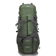 Hiking Camping Backpack Outdoor Bags Large Capacity Waterproof Climbing Bag Men Women Sports Travel Rucksack 65L 457A