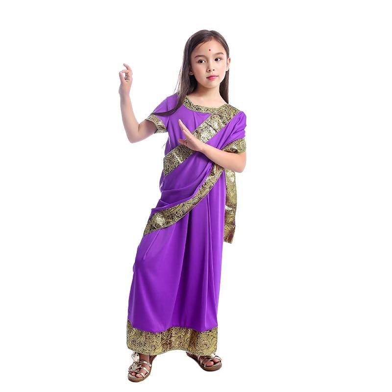 Glamorous Indian Girls Dress up Children Nativity Bollywood Princess Fancy dress Costume|Girls Costumes| - AliExpress
