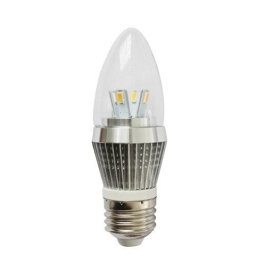 4W Dimmable LED Candle Bulb, LED Candelabra Light Bulb, E26 Medium Base,  25 Watt Replacement, Candle LED, Candela