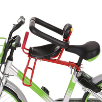 Lixada 2018 Child Bicycle Seat Kids Saddle Bicycle Bike Front Mount Children Safety Front Seat Saddle Carrier Protection Cycling