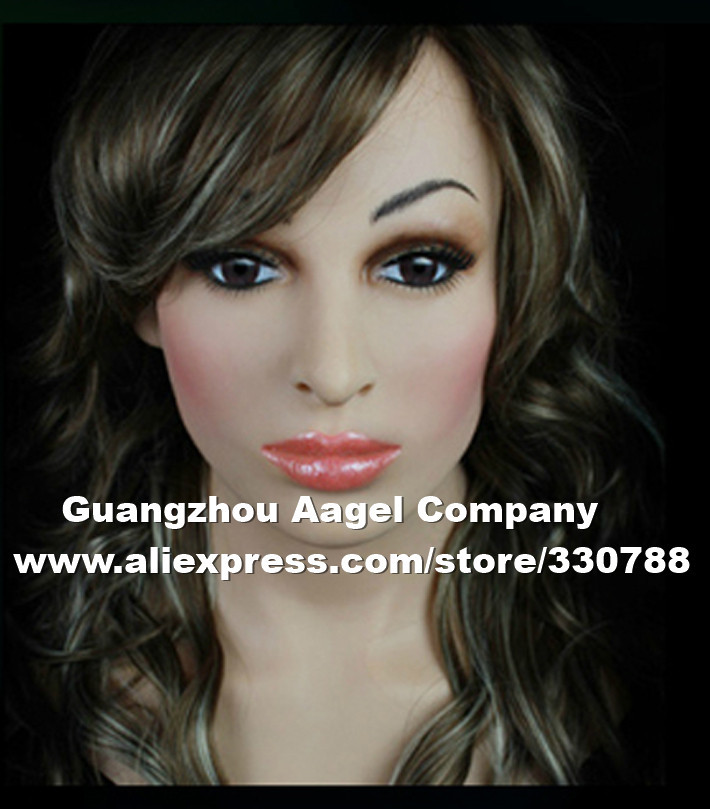 SF-14 party mask masquerade masks men, realistic silicone masks, full head female halloween - Guangzhou Angel Company store