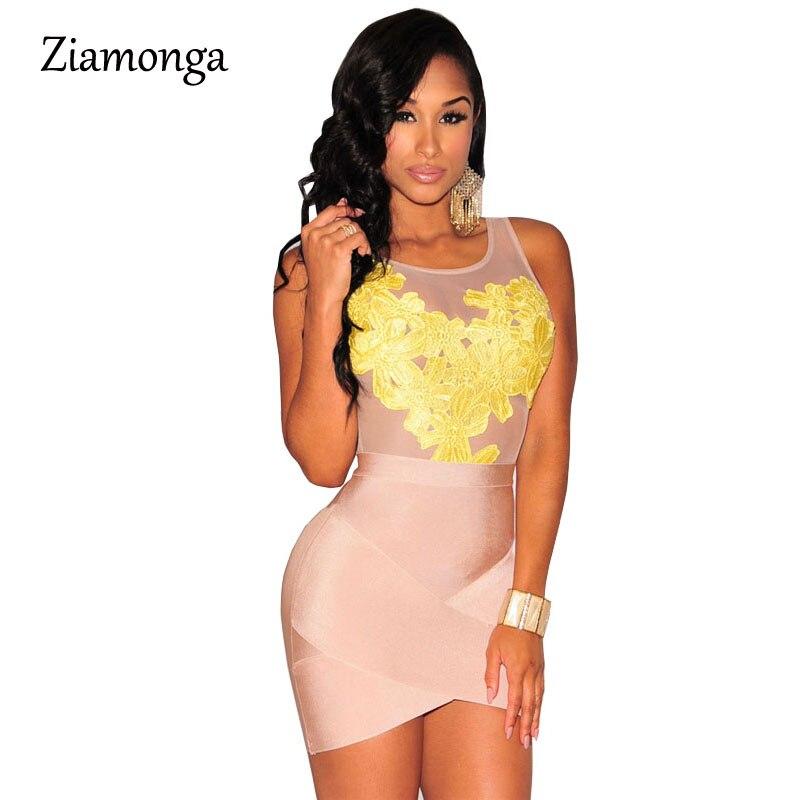 Черный комбинезон с открытой спиной, женский комбинезон,, сексуальный леопардовый принт, женские комбинезоны, Клубная одежда, Женский Облегающий комбинезон, Macacao Feminino C1515 - Цвет: C2376   Yellow