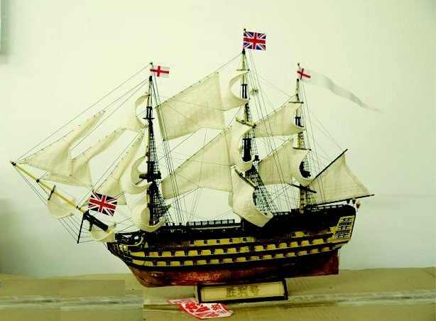 Scale 1/200 British classic ship model kit 1778 HMS Victory warship wooden model