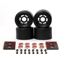 78A Skateboard Wheels 87 52mm Long Board Cross Country 83 52mm Wheels 6mm Riserpad 35mm Bolts