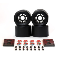 78A Skateboard Wheels 87 52mm Long Board Cross Country 83 52mm Wheels 6mm Riserpad 35mm Bolts
