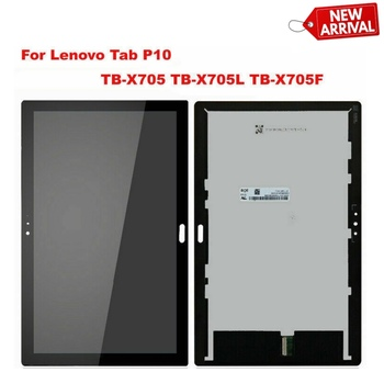 TB X705 For Lenovo Smart Tab P10 Tab5 10 Plus TB-X705L TB-X705F TB-X705N LCD Display Matrix with Touch Screen Digitizer Assembly