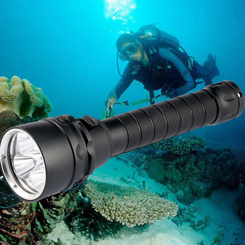35000lums Diving Flashlight Torch 5*T6 Scuba Dive Torch UnderWater 220m Depth Waterproof Led Flashlights Lantern light by 1865035000lums Diving Flashlight Torch 5*T6 Scuba Dive Torch UnderWater 220m Depth Waterproof Led Flashlights Lantern light by 18650