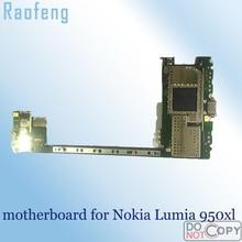 Raofeng Высокое качество для Nokia Lumia 950xl Замена материнской платы Разобранная разблокированная материнская плата с чипами