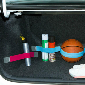 Image 3 - Car Trunk Storage Device Hook and Loop Fixed Straps Solid Color Magic Stickers  Car Accessory 5cm x 20cm/40cm/60cm/80cm