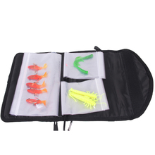 iLure Fishing Soft Lure Bags 24.5×6.5x3cm 240g Professional waterproof Sequin jig bag Bait Bags Large capacity bag free shipping