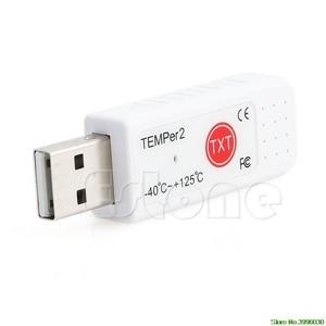 Image 4 - ПК температурный 2 Датчик USB термометр гигрометр регистратор данных температуры рекордер
