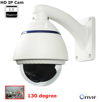 HD Outdoor IP Dome Camera Wide Angle 130 degree Fisheye Network Camera 1.3MP IP camera Onvif P2P motion detect 2.1mm lens IPCam