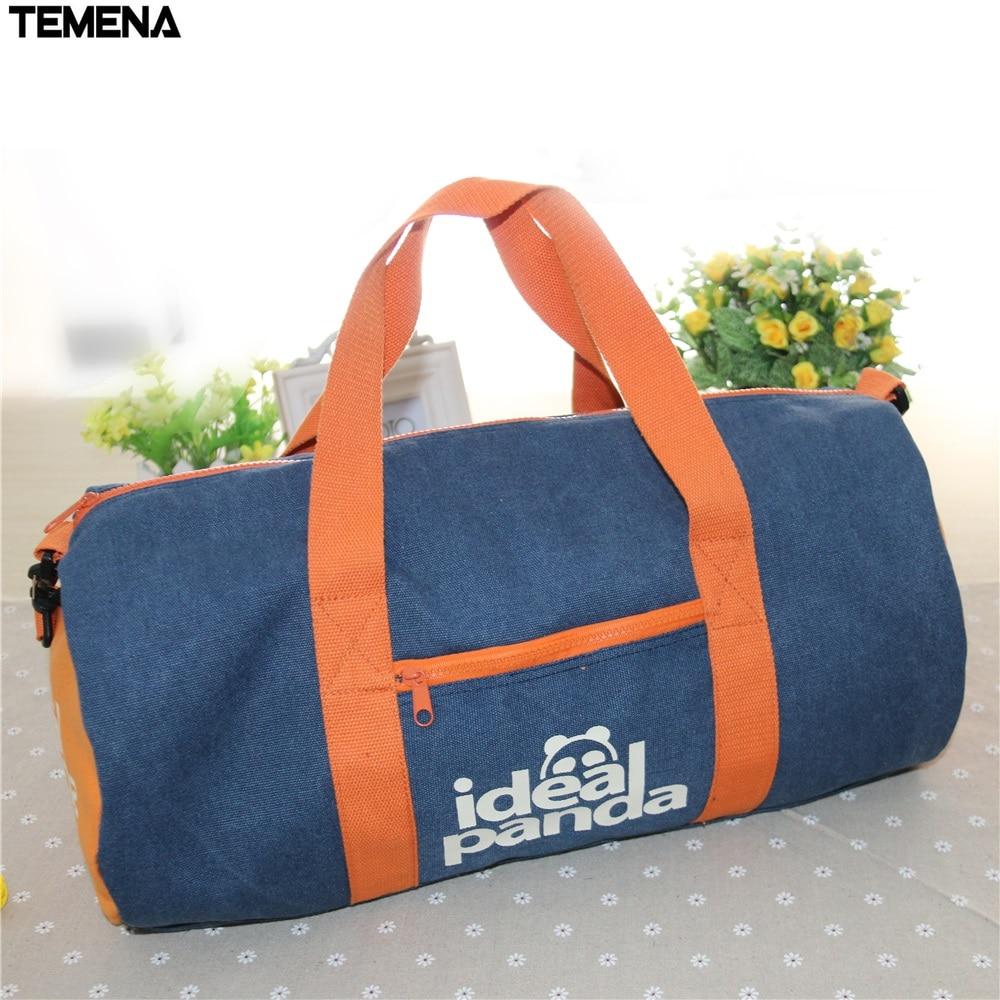 7827cc7d7d92 TEMENA Large Canvas Sport Bag Men Women Training Gym Bag Mulifucntional  Shoulder Fitness Bags Handbag Bolsa Deporte Sac de Sport