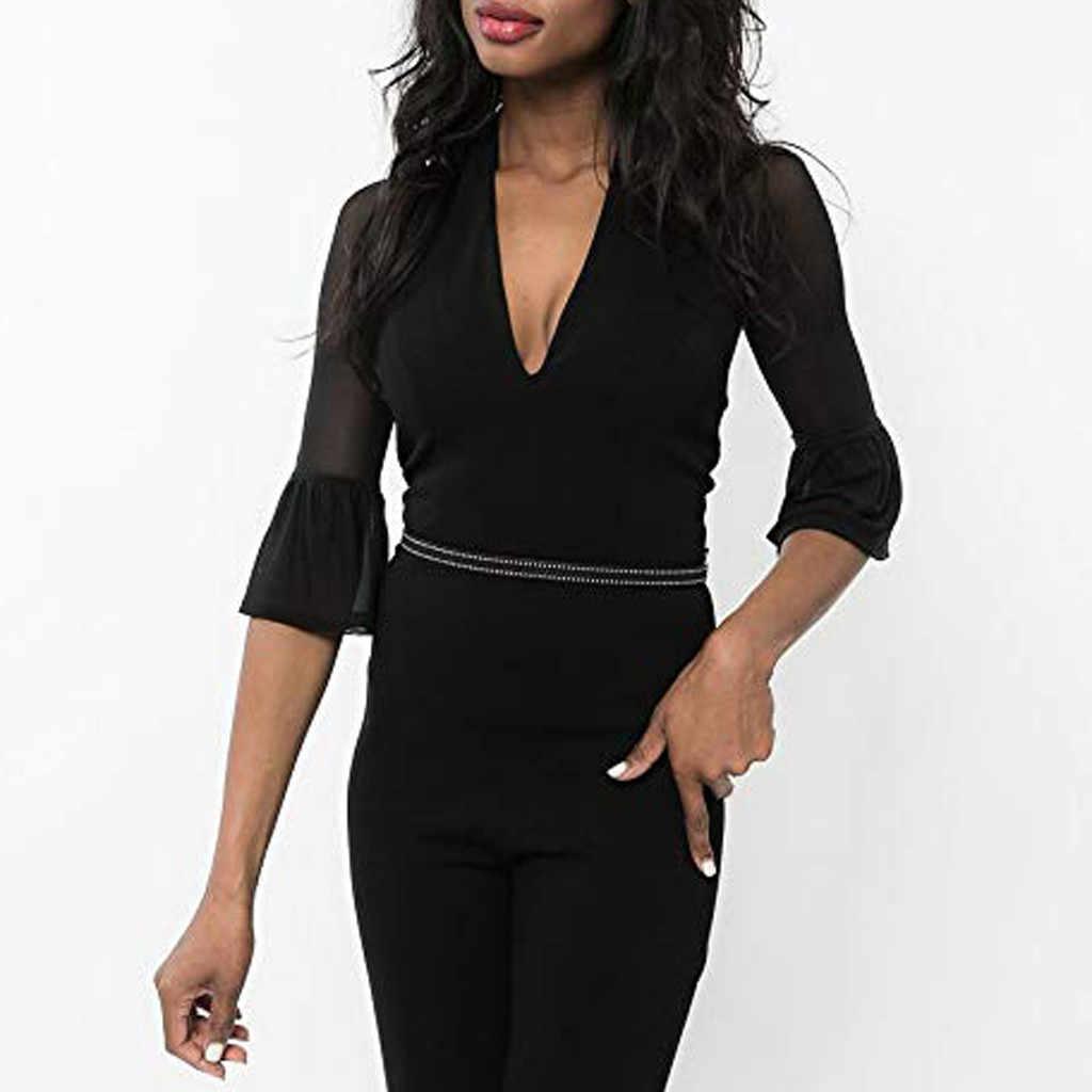 Vrouwen Beide Side Wear Sheer Plus Size Naadloze Arm Shaper Trompet Mouwen Top Mesh Bloemen Blouses Perspectief Vest Tops VD8
