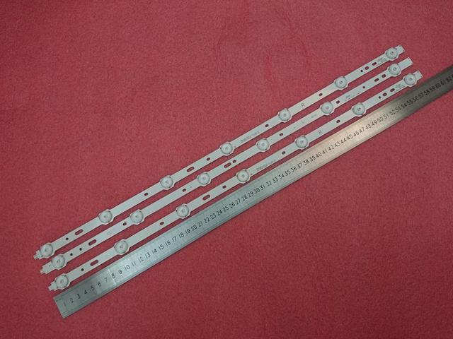 3pcs/set LED backlight strip for 32PFL3107H12 32W1334B 32W1333B 32L2200U SVS320AD7 SVS320AA6 LTA320AP33 LC 32LD135K 32L2200U