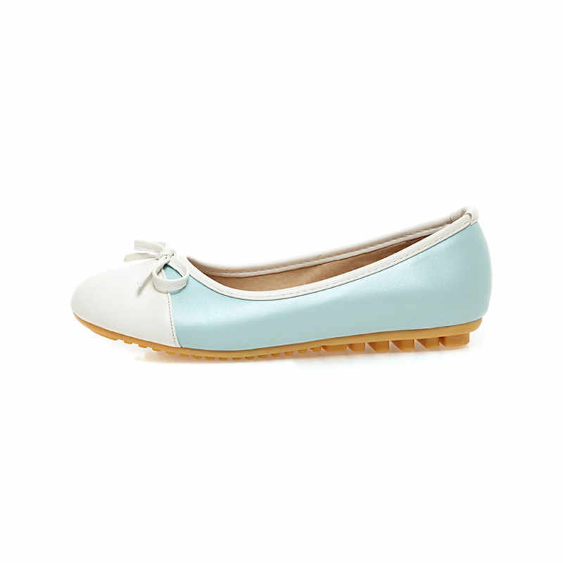 Donne nuovi Appartamenti Slip On Scarpe Mocassini Primavera Autunno Confort Delle Donne di Balletto Scarpe scarpe da Guida scarpe In Gravidanza Più Il formato 33 -43