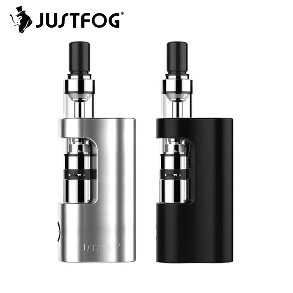 Original Justfog Q14 Compact Kit 900mah Battery Justfog Q14 Tank Anti leakage Starshield System Electronic Cigarette Vape