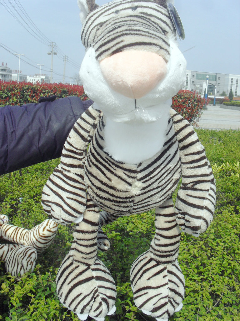 stuffed animal plush 80cm jungle tiger plush toy soft doll throw pillow gift w2914