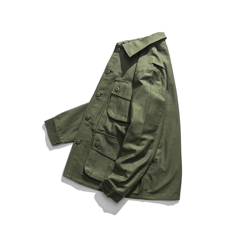 Erkek Kıyafeti'ten Ceketler'de Üreme WW2 ABD Airborne M42 Tulum Ceket Paraşütçü Askeri Üniforma'da  Grup 3