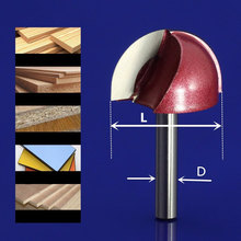 1PCS-Round bottom Engraving Bit,CNC solid carbide milling cutter,tungsten steel wood tool,woodworking router bit,MDF,wood tool
