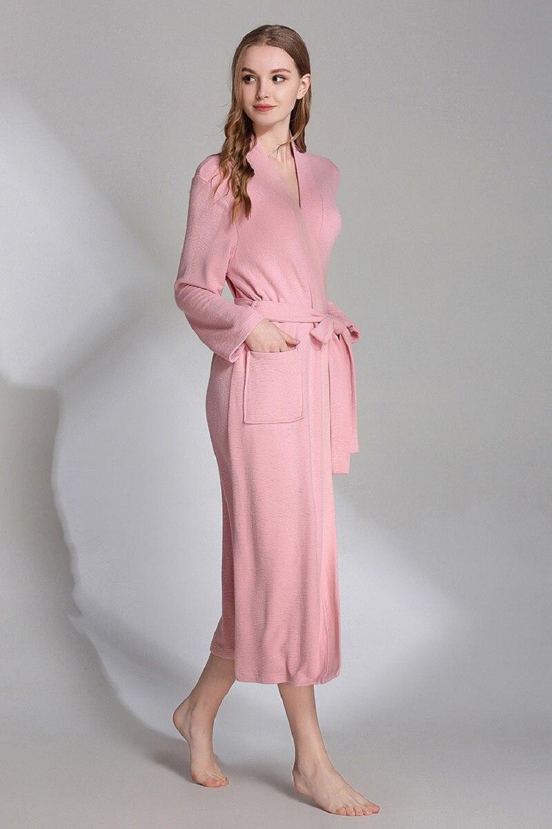 women plus size bathrobes spring (6)