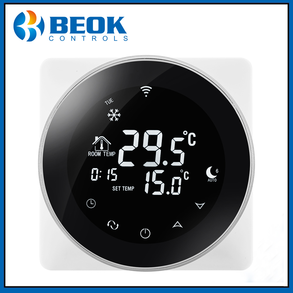 Beok TGR87 WiFi Smart Thermostat Electric Floor Heating 16A Temperature Controller