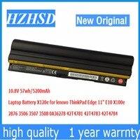 10 8V 57Wh 6CELL Original New Laptop Battery For Lenovo Thinkpad Edge 11 X100e X120e 42T4785