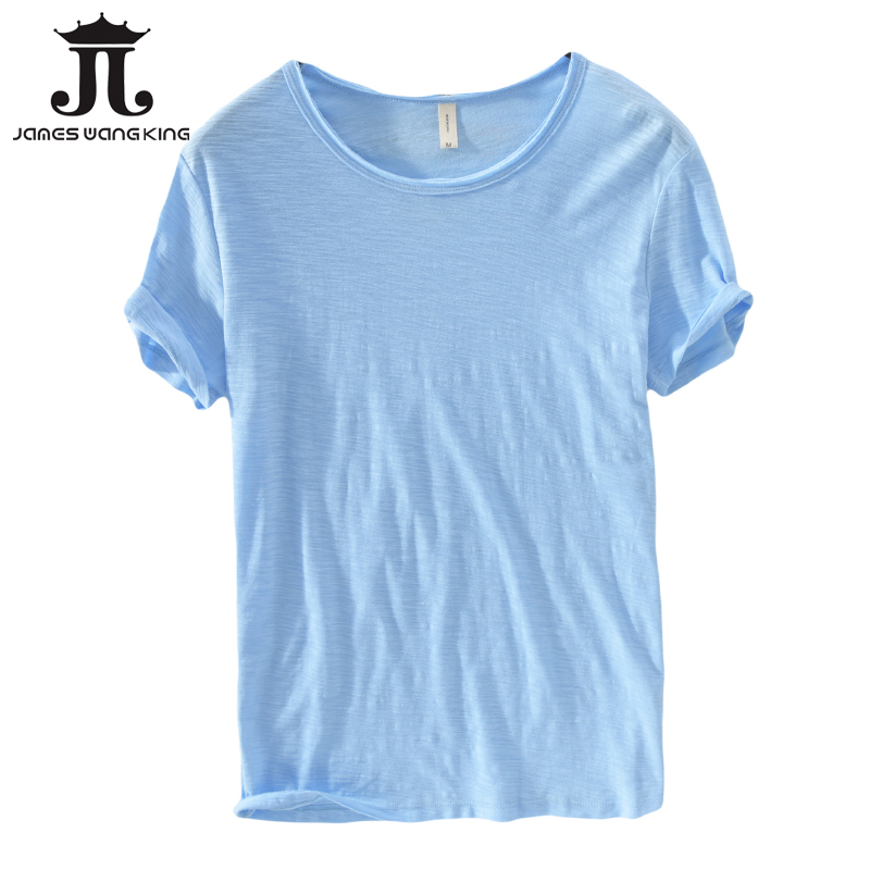 New 2018 summer linen   t     shirt   men short sleeve O-NECK breathable 100% linen cotton tops&tee soft white   t  -  shirt   high quality 213