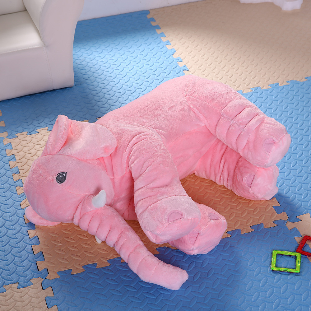 40 cm Colorful Giant Elephant Stuffed plush toys kids Pillow Baby gift