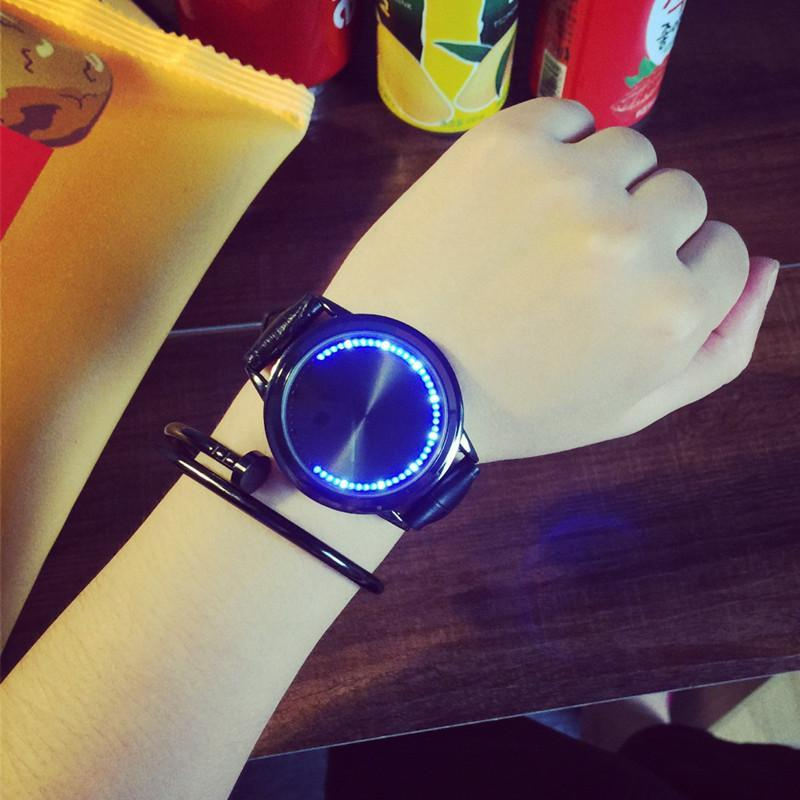 NEW Hot sale Special design wristwatch digital era creative simple design fashion quartz unisex watches