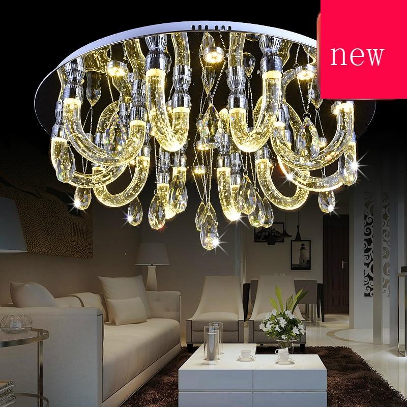 Z Moderne LED Kristall Blase Lampe Restaurant Deckenleuchte Trichromatischen Dimmen Energiesparende Wohnzimmer Fr Schlafzimmer