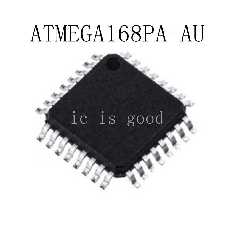 10PCS ATMEGA168PA ATMEGA168PA AU QFP32