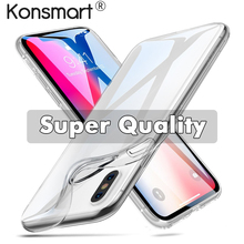 Ultra Thin Clear Case for iPhone Xr X Xs Max Silicone Soft Case for iPhone 7 8 6s 6 plus iphone 5s 5 SE Transparent Cover coque цена и фото