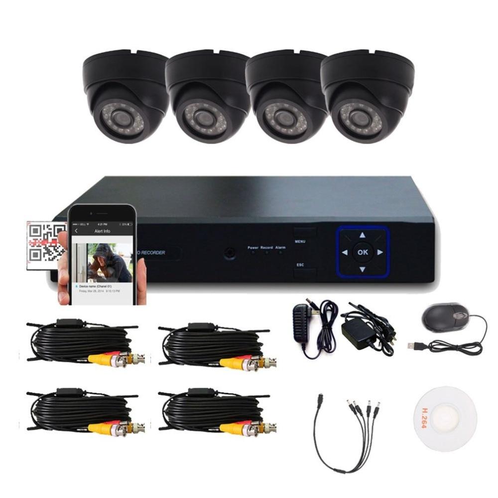 Домашнее внутреннее наружное 1/3 Запись DVR HD камера системы настенного монтажа ночное видение наблюдения безопасности диагностический комп