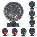 3.75 inch pointer tachometer black shell Colorful Backlight Auto gauge 0-8000 RPM Free shipping
