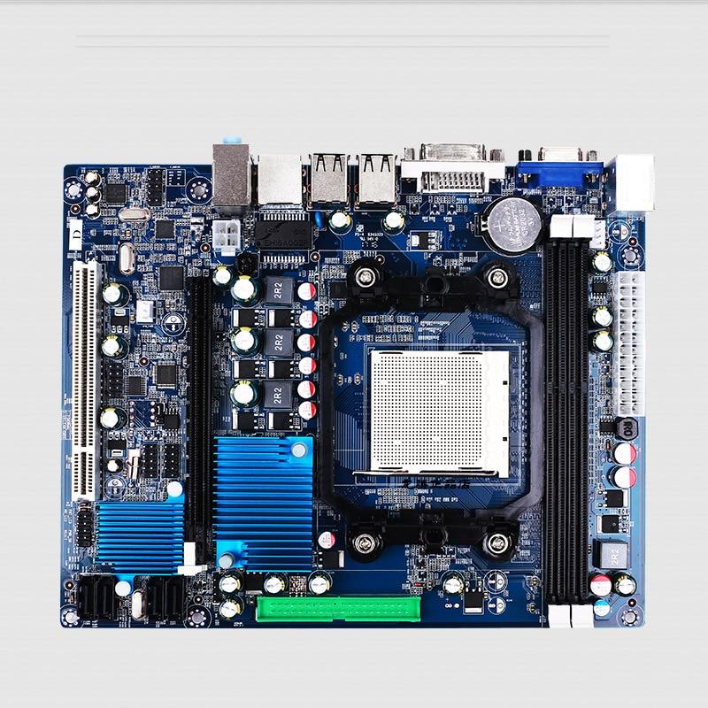 все цены на New Motherboard A78 AM2 DDR3 Memory desktop Motherboard Supports AM3 938 Dual Core Quad Core онлайн