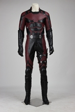 High quality Daredevil Superhero Cosplay Costume Matt Murdock Adult Men's Halloween Suit Custom Made Halloween Suits Full Set
