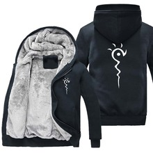 New Winter warm Anime Natsume Yuujinchou hoodie Cat teacher Thick Jacket Coat
