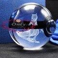 Agradable 3D Regalos Pokemon Mewtwo Ir Bola de Cristal para el Juego de Los Hinchas