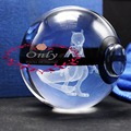Nice 3D Mewtwo Pokemon Go Crystal Ball for Game Fans' Gifts